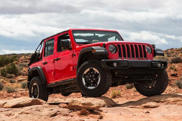 2020 Jeep Wrangler Exterior