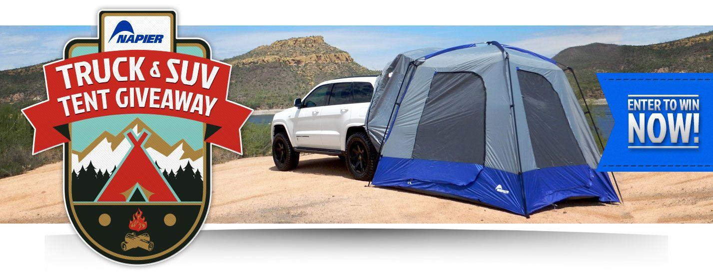 Napier Truck & SUV Tent Giveaway