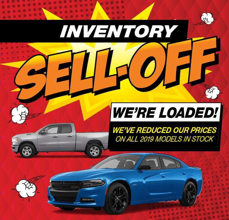 2019 Inventory Sell-Off at Crosstown Chrysler Dodge Jeep Ram in 15520 123 Ave