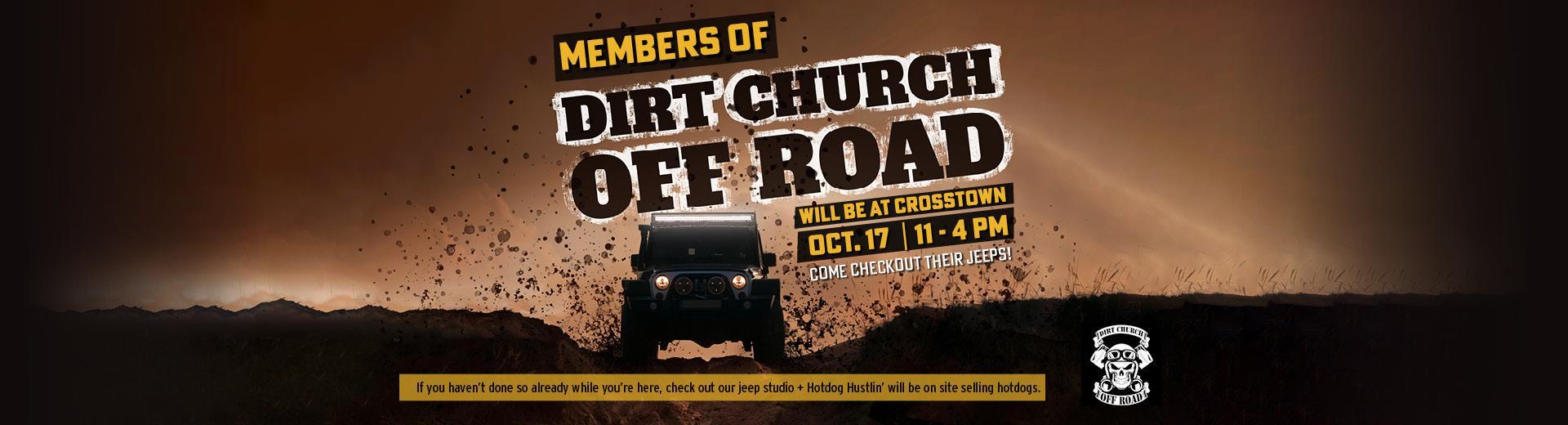 Dirt Church Evenet Banner
