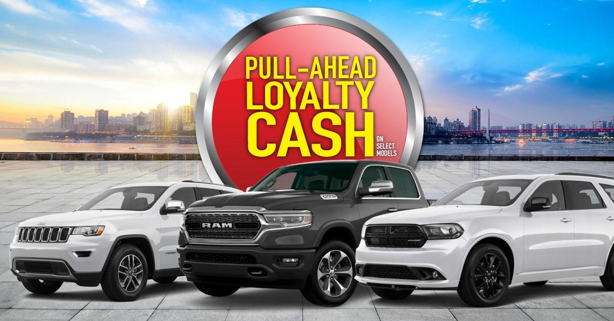Pull Ahead Offer at Crosstown Chrysler Dodge Jeep Ram